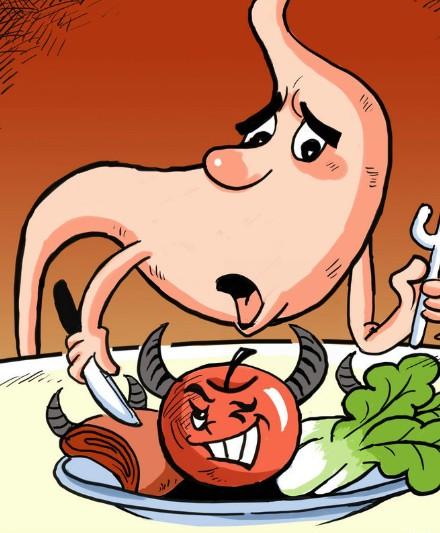 乌鲁木齐中医推拿培训之容易伤胃的6大怀习惯图片